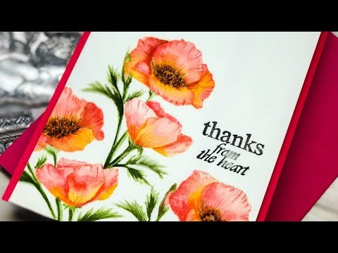 Pretty Poppies + Gina K Designs