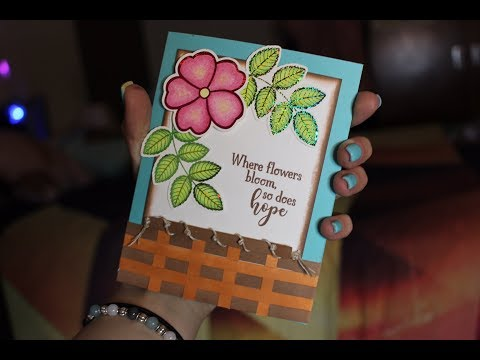 Surprising Ruth with a Stamp-n-Foil Card