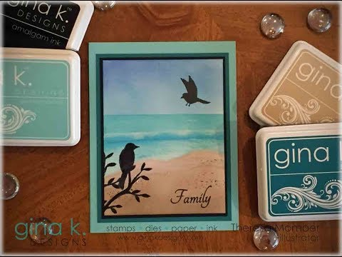 Sandy Beach Card with Theresa Momber