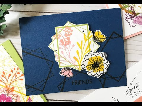 Card Tutorial: Graphic Inspired Card Design with Gina K Designs