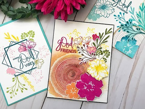 Stamp Set Introduction: Something Good with Gina K Designs
