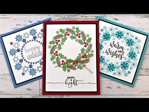 August Release & Holiday Wreath Builder