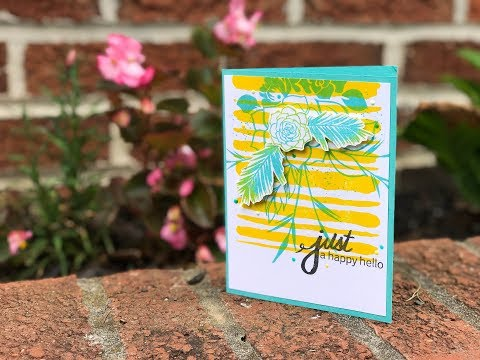 Craft Your Joy Card Tutorial: Color Mixing with Dye Inks