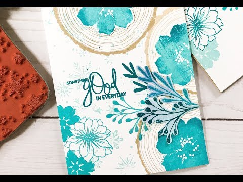 Card Tutorial: Masking + Ombre Color Effects