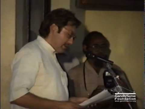 Speech in Gujarati language 02, 1992