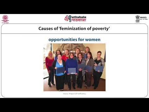 Feminization and Poverty by Prof. Vibhuti Patel