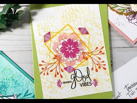 Card Tutorial: Wonky Cards with a Graphic Twist