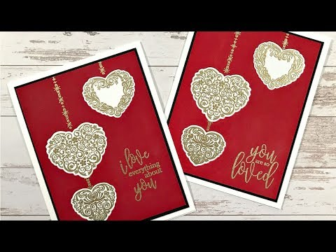 Embossed Hearts for Valentine's Day and Beyond
