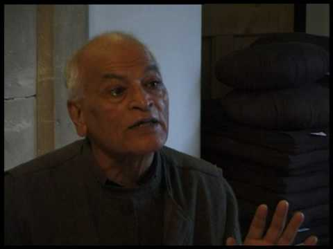 A day with Satish Kumar {morning} (1/2)