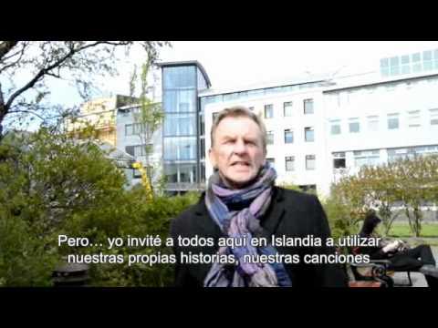 Mensaje de apoyo a los españoles desde Islandia (Subtitulado)