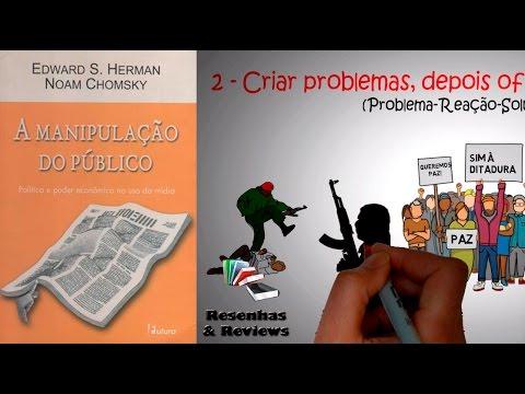 AS 10 ESTRATÉGIAS DE MANIPULAÇÃO DAS MASSAS | Por NOAM CHOMSKY | Resumo Animado.