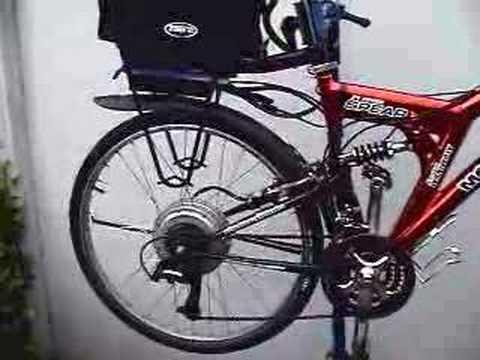 Home modified electric bike