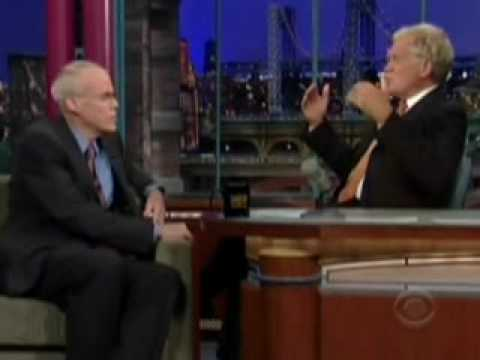 350.org's Bill McKibben on David Letterman: Put Solar on the White House on 10/10/10
