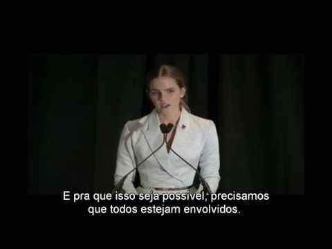 Discurso de Emma Watson pela Organização das Nações Unidas (ONU) - Campanha #HeForShe