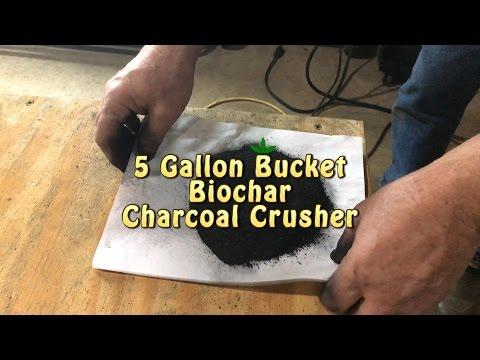 5 Gallon Bucket Biochar Crushing Mill