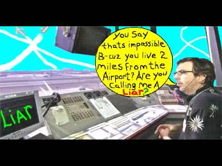 """Chemtrails Cartoon #1 - """"One Full Day of Chemtrails"""""""