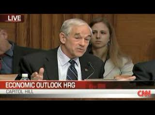 Ron Paul Lectures Bernanke: U.S. Moving Towards Fascism