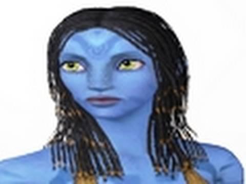 Creating AVATAR's Neytiri In The Sims3 Tutorial