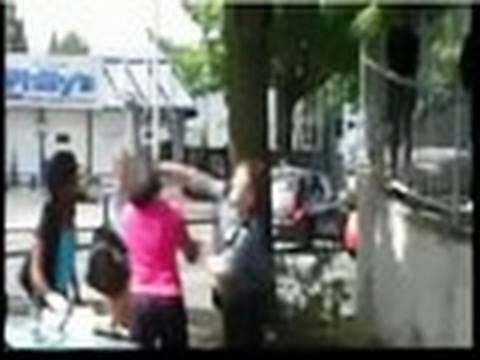 White Cop Punches Black Female Teen In Face