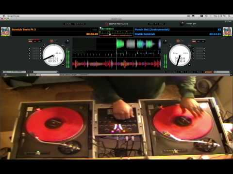 DJ KAY ON RANE SERATO SCRATCH LIVE PRACTICING VIDEO 1 Remember Mike Tyson Punch Out?