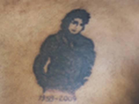 Michael Jackson Custom Tattoo