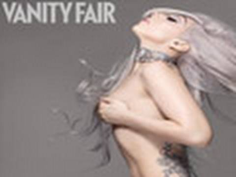 Lady Gaga Wants to Pose For Playboy & Strips Naked For Vanity Fair