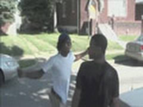 Rapper In Saint Louis Get's Slapped Part2 (Hidden Footage)