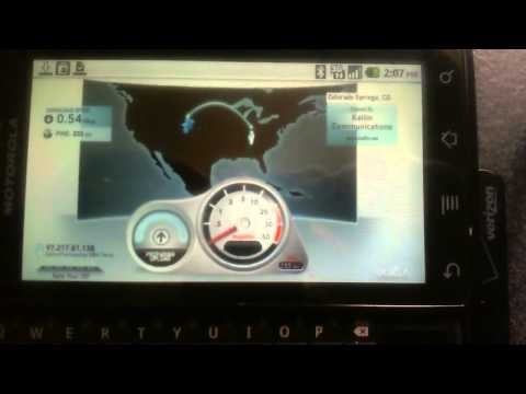 http://speedtest.net pda android droid