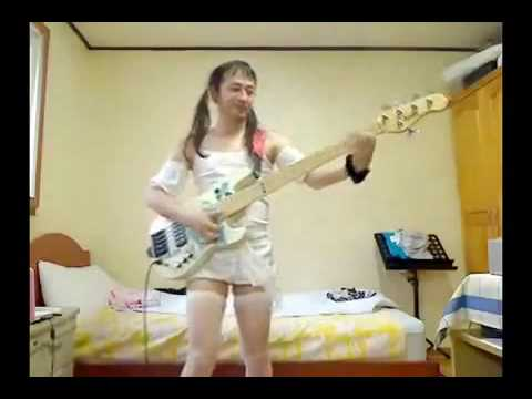 Weirdo Japenese Bass Player