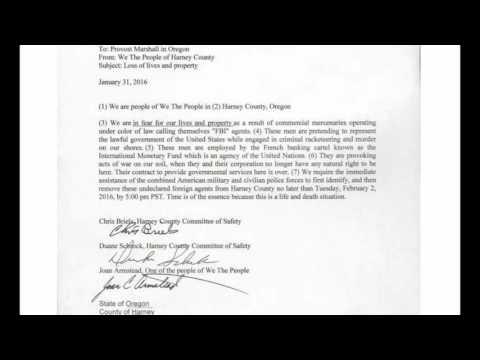 Constitutional Judge, Gary Darby Believes Blackstone Mercenaries Are Operating Inside Oregon