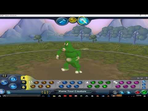 a little spore creation video