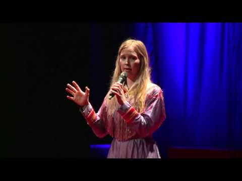 TEDxGateway:Sofia Jannok:Singer of the people of wind & sun talks about rights to earth & freedom