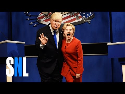 Donald Trump vs. Hillary Clinton Debate Cold Open - SNL