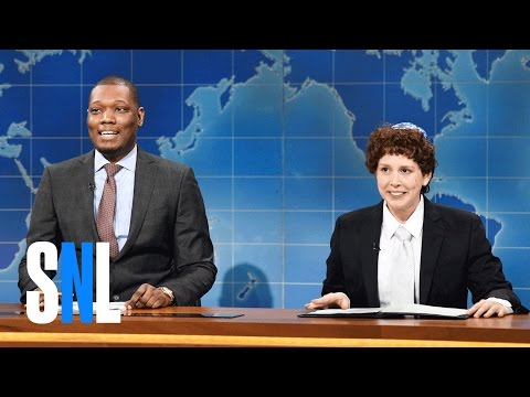 Weekend Update: Jacob the Bar Mitzvah Boy on Passover 3 - SNL