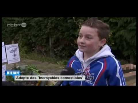 Incroyables Comestibles Wallonie sur RTBF