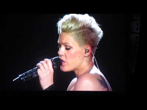 Pink - Fire and Rain live at Birmingham's LG Arena 21/4/13