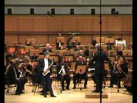 Theodore Kerkezos performs Mvt. 1 & 2 - Farandole des jeunes filles and Chanson pour ma mie