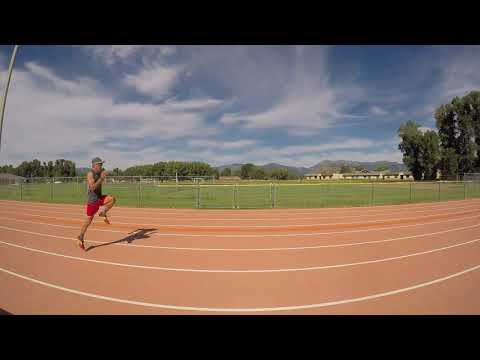 Run Drills: Skip for Distance to improve form, speed, strength and cadence.