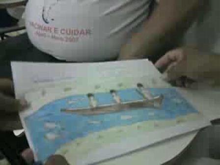 Oficina Cultural Xingu - Abril de 2008, historia de Kamukwaka 2