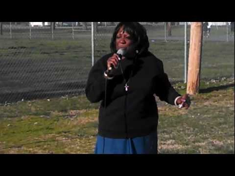 Patricia Blaine sings in East St Louis