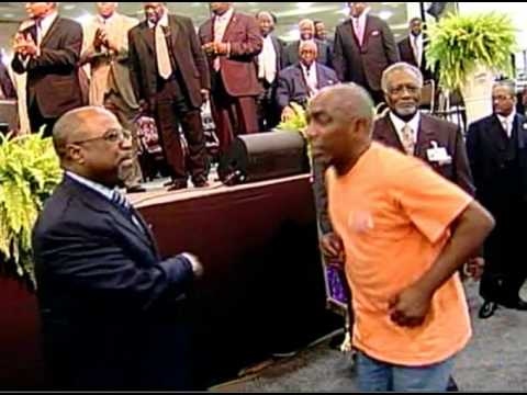 AIM 2013 Homeless Man Testify/Praise Break