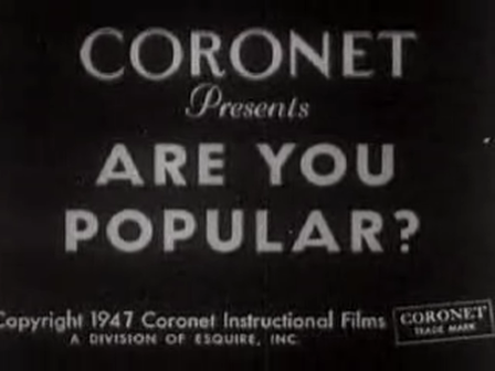 Are You Popular? 1947