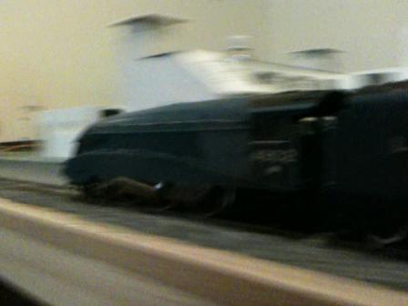 A4 streamliner at speed