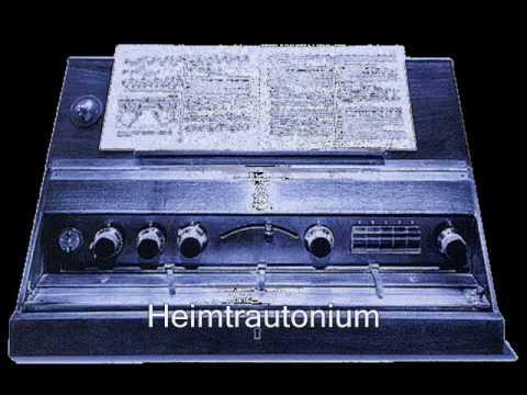 Frank Fux / Oskar Sala am Trautonium - Bezaubernde Melodien 1. und 2. Teil