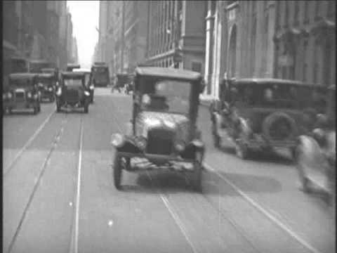 Driving Around New York City - 1928