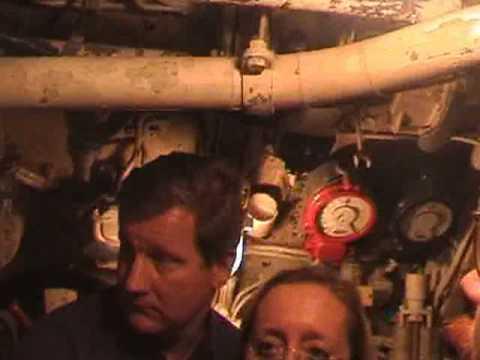 U-505 virtual tour of exhibit
