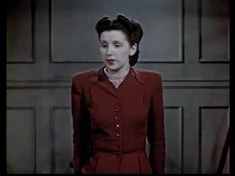 1940's Fashion - Good Posture Lesson
