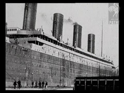 Titanic and Survivors - Original Newsreel from 1912