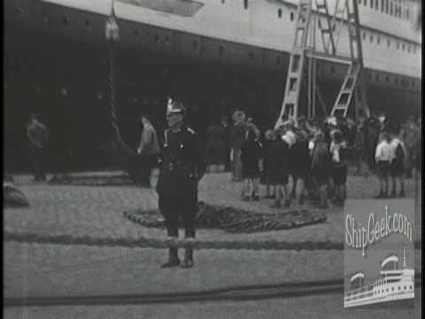SS Europa 1936 Home Movies