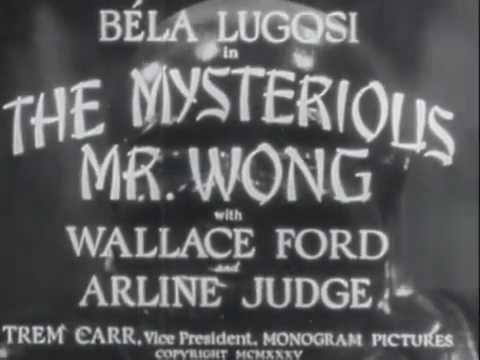 The Mysterious Mr. Wong 1935 (Full Movie)